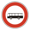 Zákaz vjazdu nákladných áut a autobusov